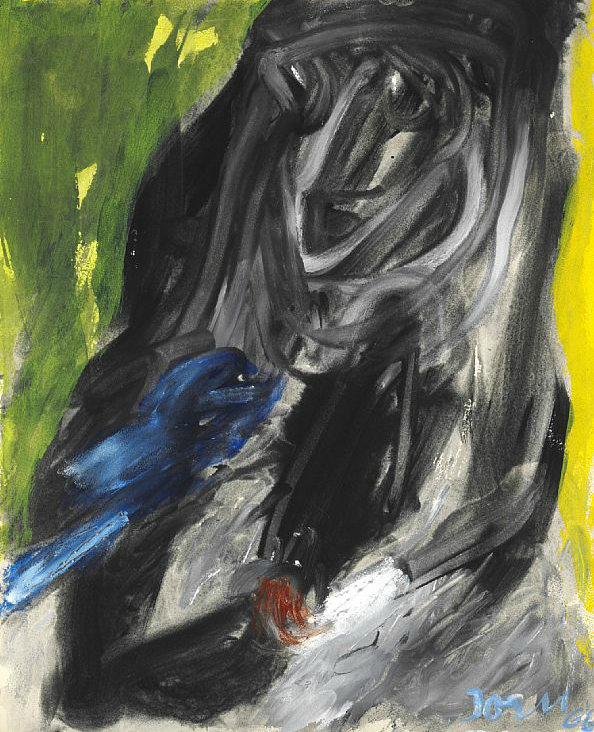 CoBrA artist: Asger Jorn – The blue bird