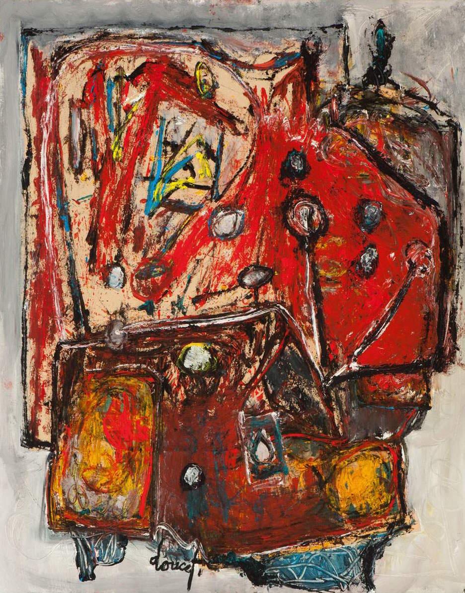 CoBrA artist: Jacques Doucet - Soleil aux Loups