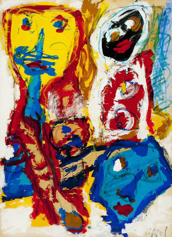 CoBrA artist: Karel Appel